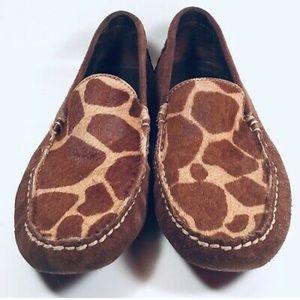 Lauren Ralph Lauren Taylor Giraffe Print Loafer